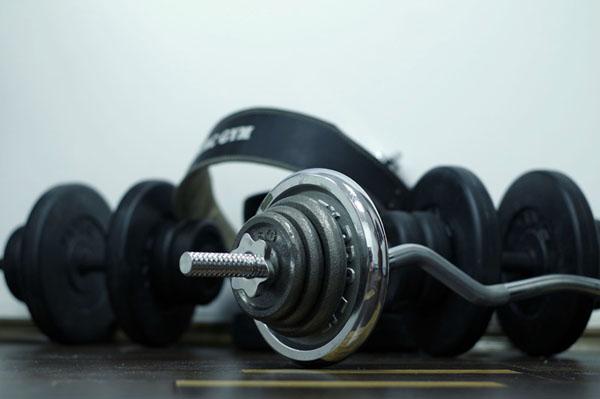 Mage och rygg tränades